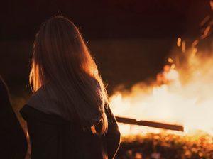 Видеть пожар