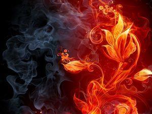 Рисунок огня