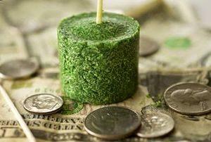 Зелёная свеча