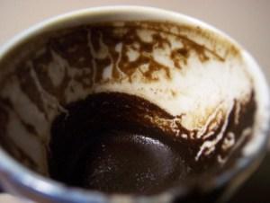 Кофейная чашка с узорами