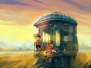 Ехать в поезде с попутчиками