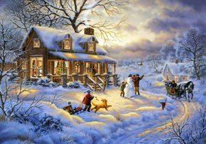 Игры в снегу