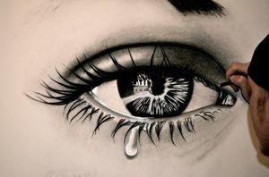 Рисунок слеза