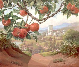 Яблоня на дороге
