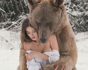 Медведь поймал во сне