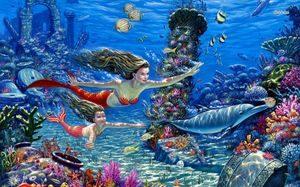 В глубинах моря