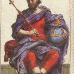 Император Таро Древняя Миниатюра
