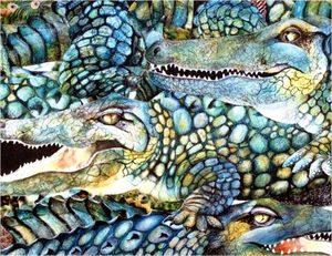 Разные крокодилы