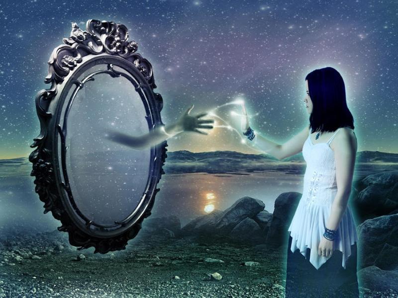нет отображения в зеркале